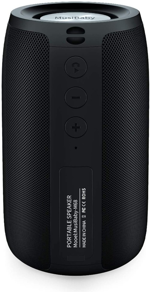 MusiBaby Outdoor Waterproof Wireless Bluetooth Speaker