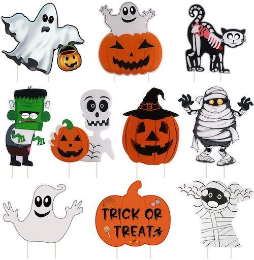 10 Piece Halloween decorations
