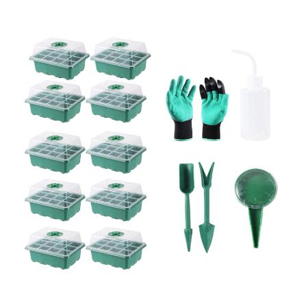 120 Cells Seedling Starter Trays Kit