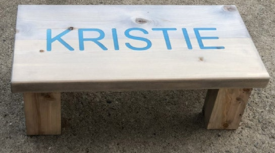 Personalized Type – hot tub steps