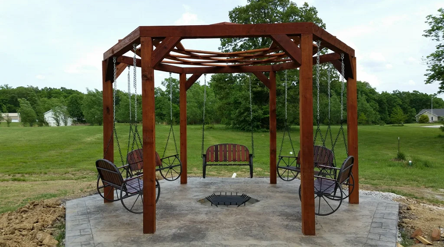 Hanging Benches