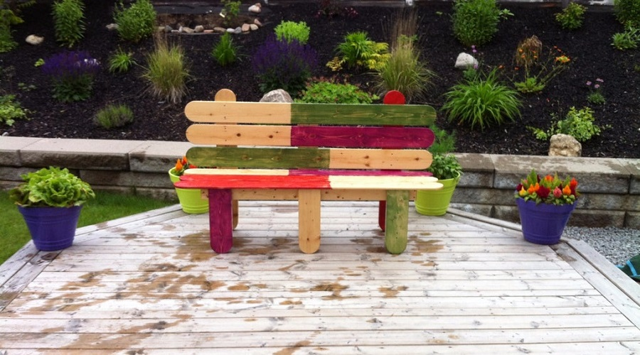 Popsicle-Style Seats