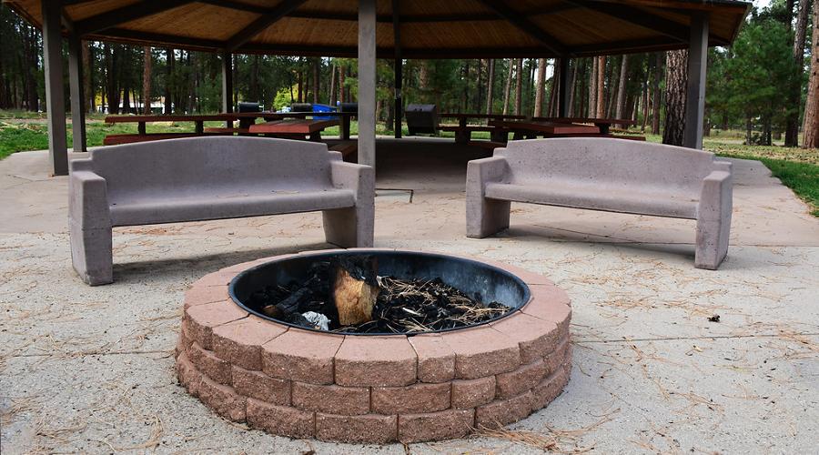 Classic Concrete Garden Bench