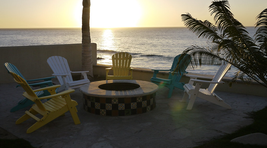 Candy-Colored Patio Chairs