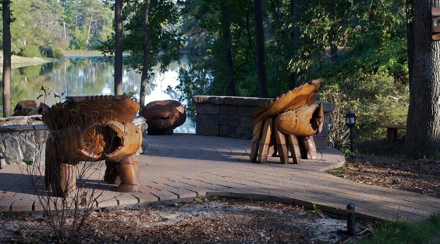 Carved Wood Details