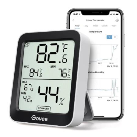 Govee Bluetooth Digital Hygrometer Indoor Thermometer