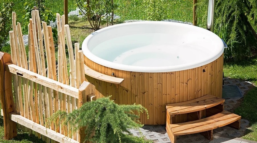 Hot Tub Shelf