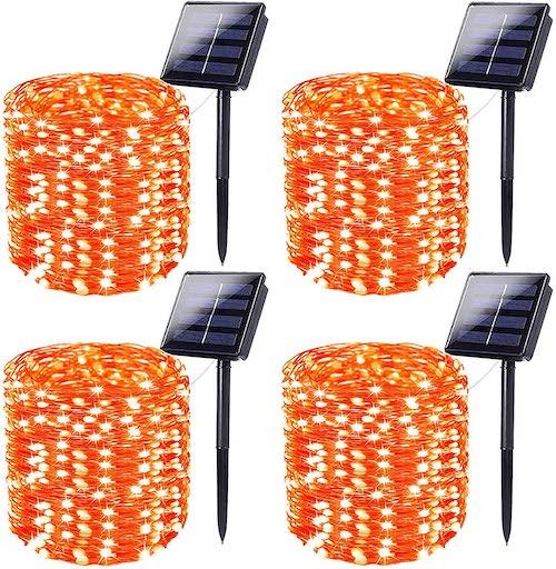 Orange, Super Long String Lights