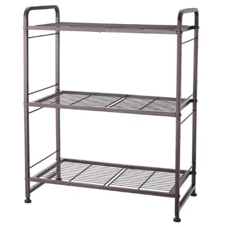 Simple Trending 3-Tier Stackable Wire Shelving Unit Storage Rack