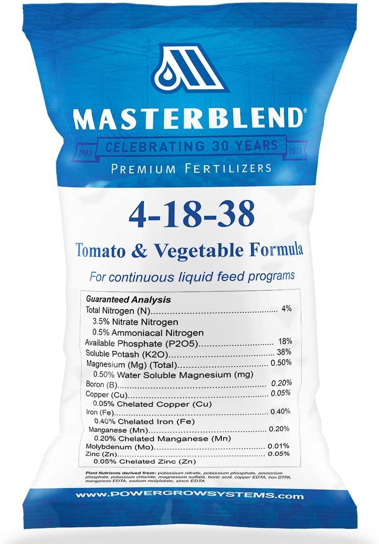 MasterBlend Tomato & Vegetable Fertilizer