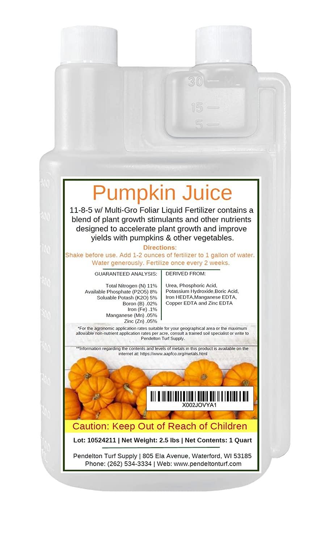 Pendelton Turf Supply Pumpkin Juice Foliar Liquid Fertilizer