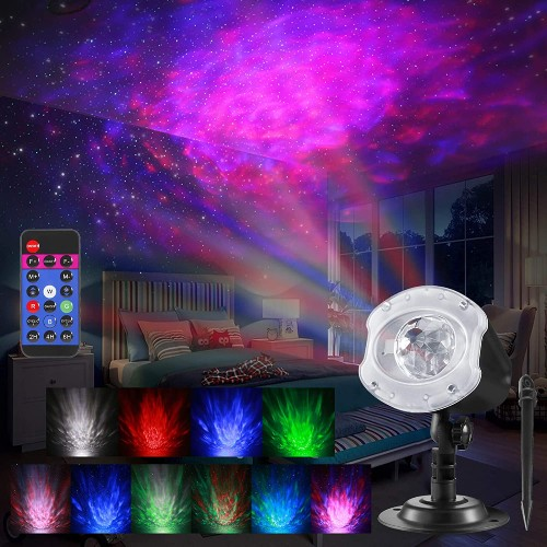 ALOVECO 2-in-1 Laser Projector Light