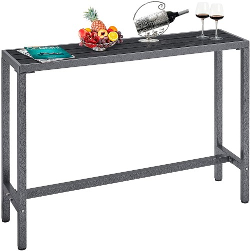 Mr IRONSTONE Outdoor Bar Table