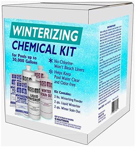 Qualco Pool Closing Chemical Kit