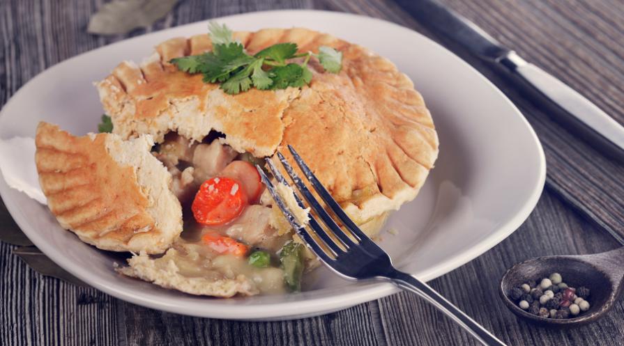 chicken pot pie lifestyle