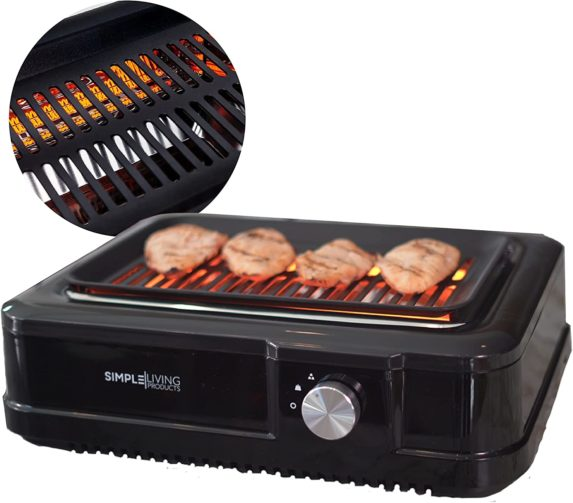 Simple Living infrared electric indoor smokless grill